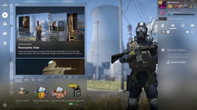 CS:GO's UI update is a needed upgrade 1