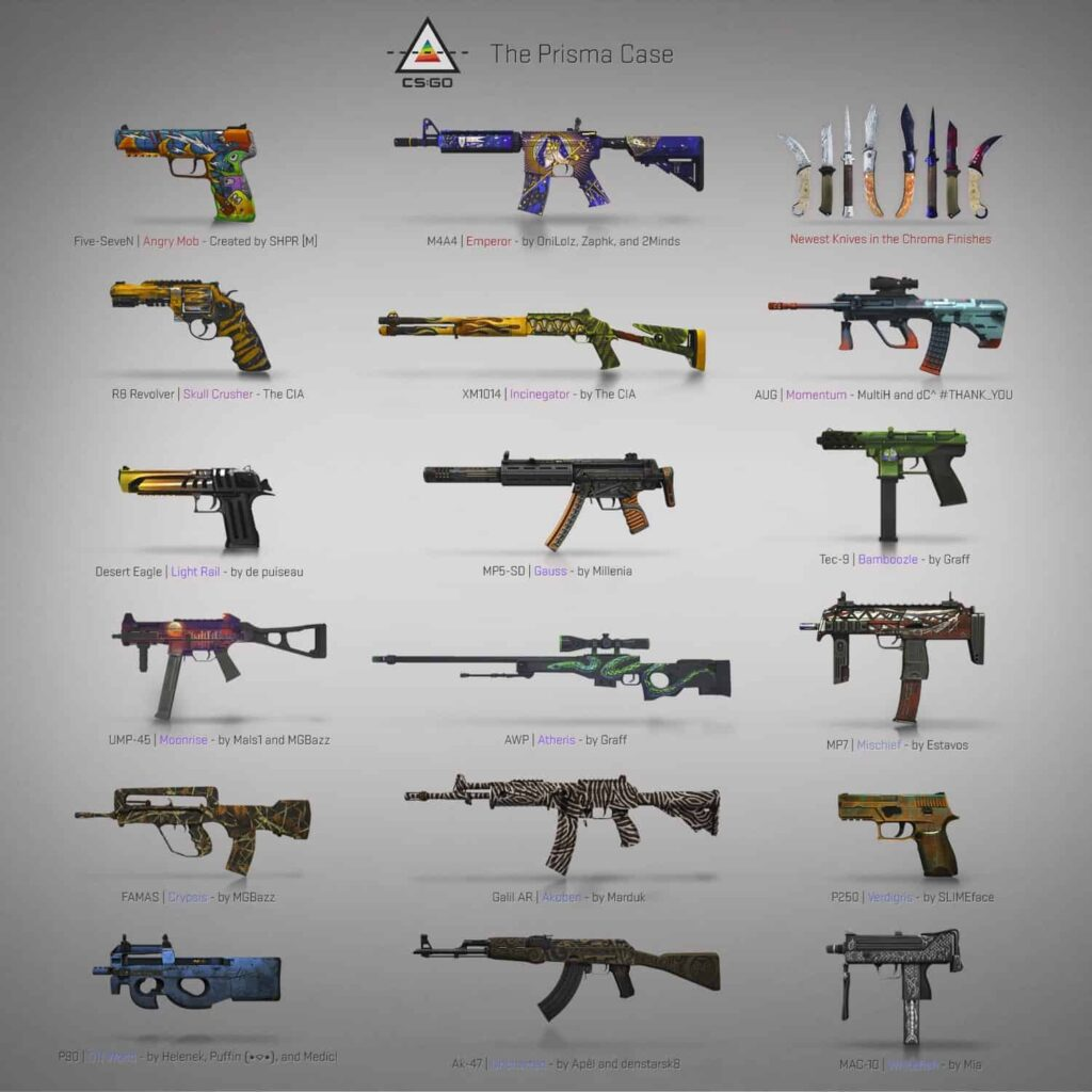Prisma case CS:GO update released 19