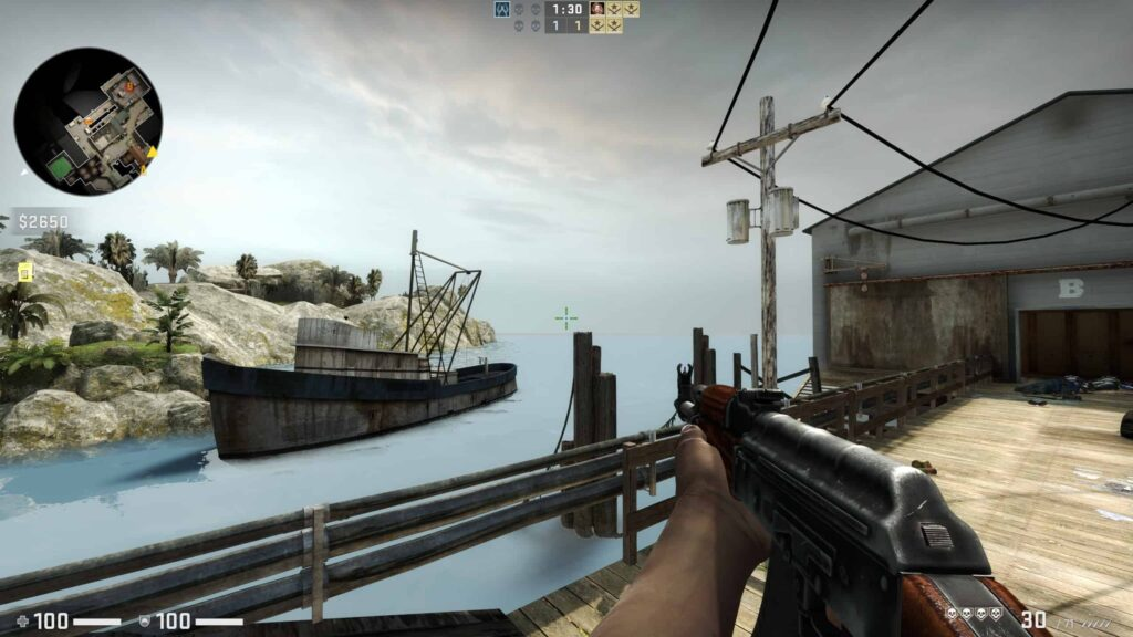counter strike global offensive seaside