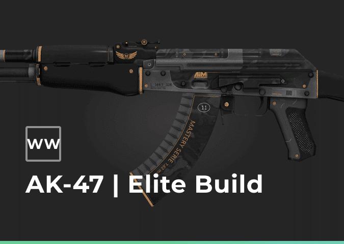 ak 47 elite build well worn