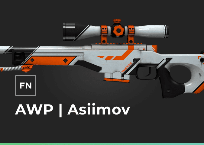 awp asiimov factory new