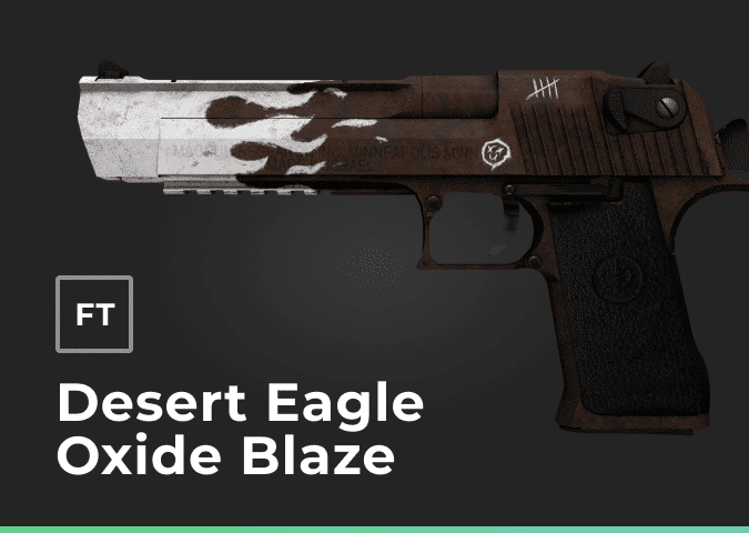 desert eagle oxide blaze field tested
