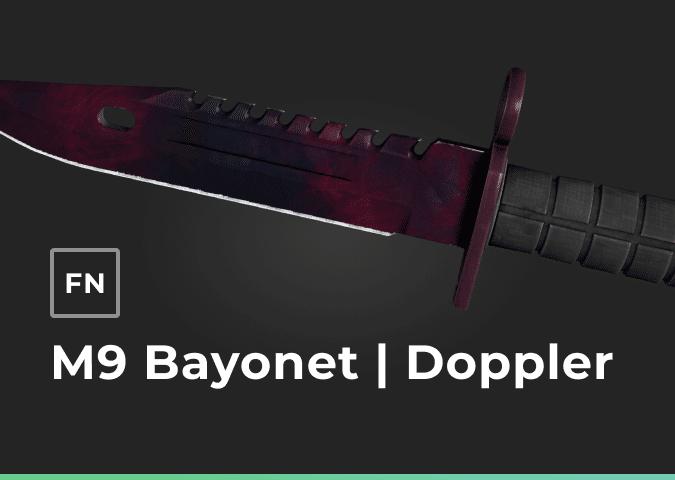 m9 bayonet doppler factory new