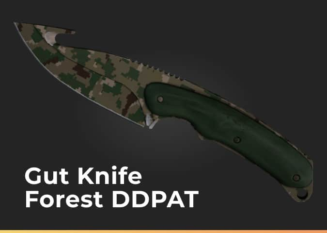 gut knife forest ddpat
