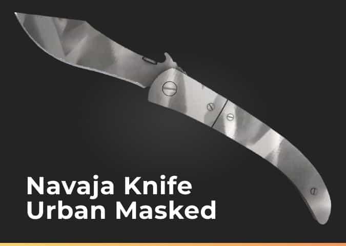 navaja knife urban masked