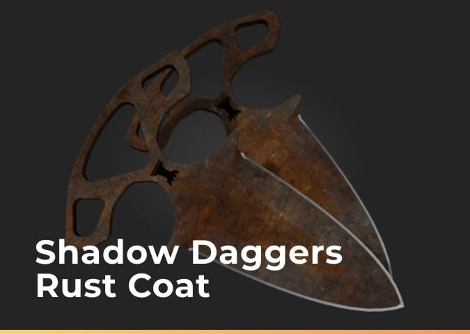 shadow draggers rust coat