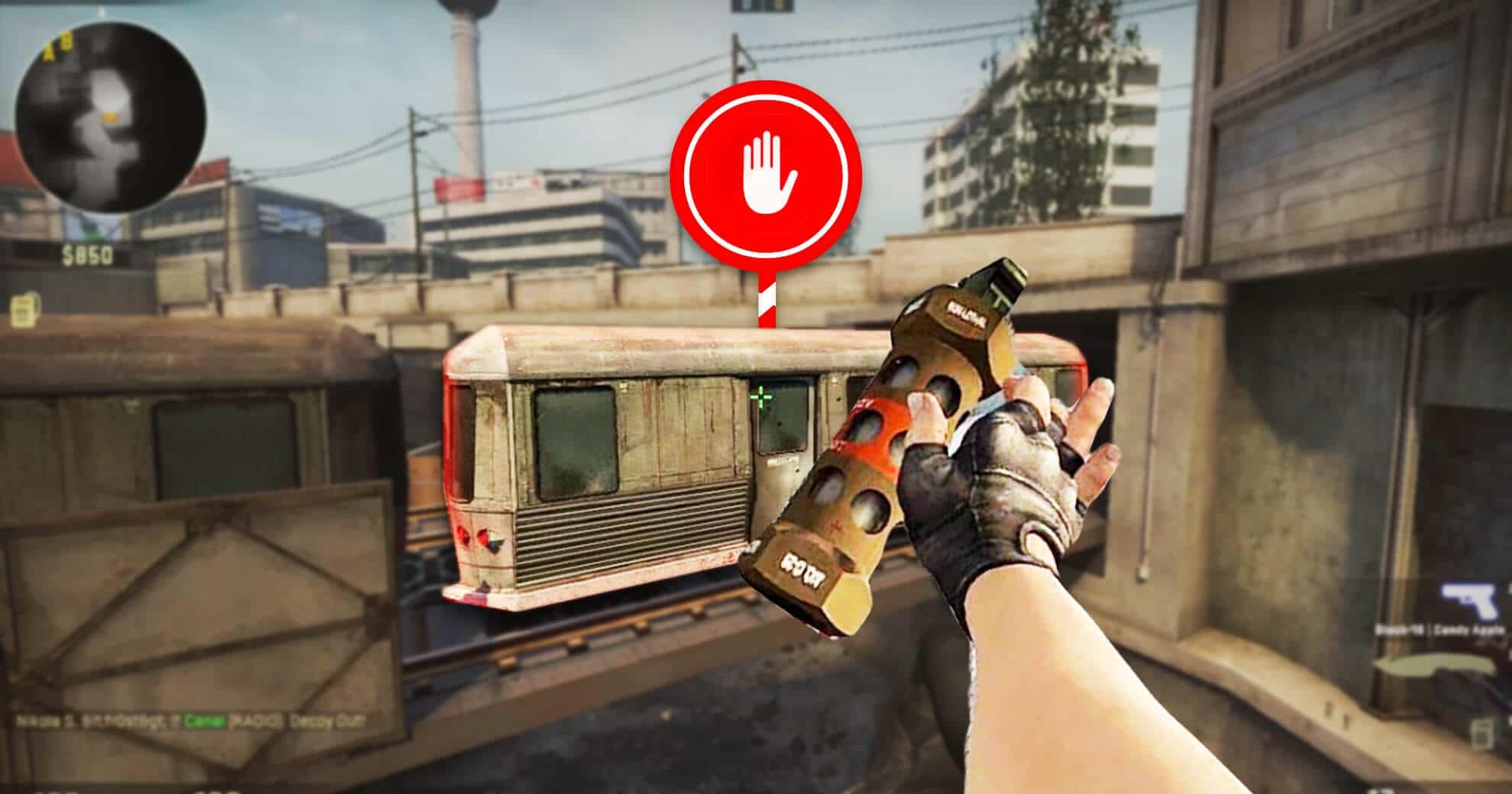 Weird CSGO Exploit Allows Players To Stop The Train On Overpass